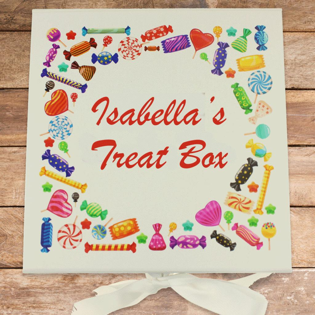 Personalised Sweetie Box, With Sweets