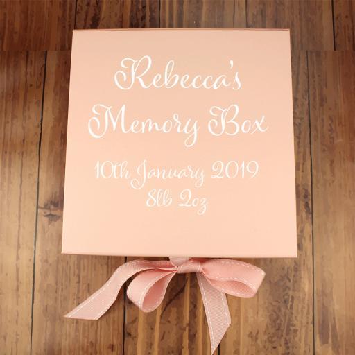 Baby Pink Memory Box
