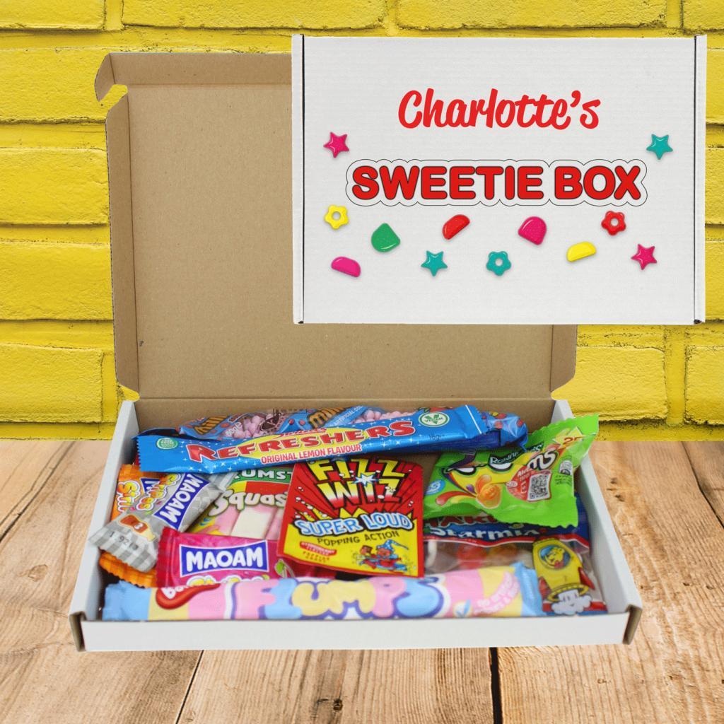 Halloween Sweetie Personalised Letterbox Gift
