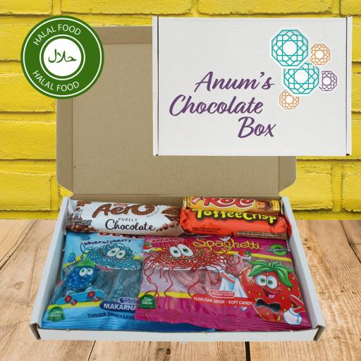 Send Chocolate Love Halal Letterbox Gift