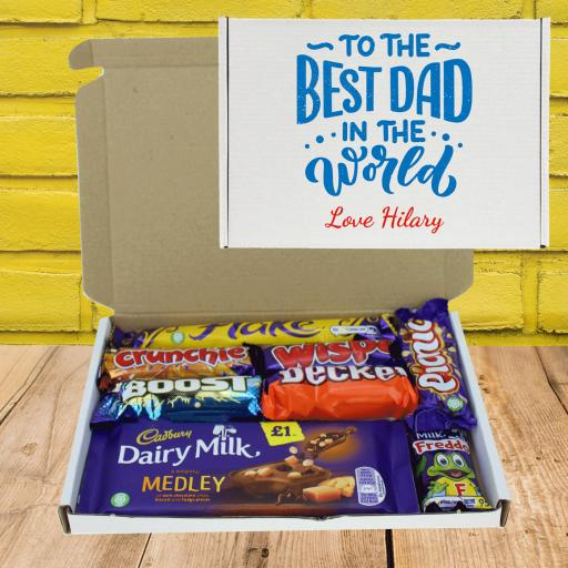 Fathers Day Letterbox Gift - Best Dad