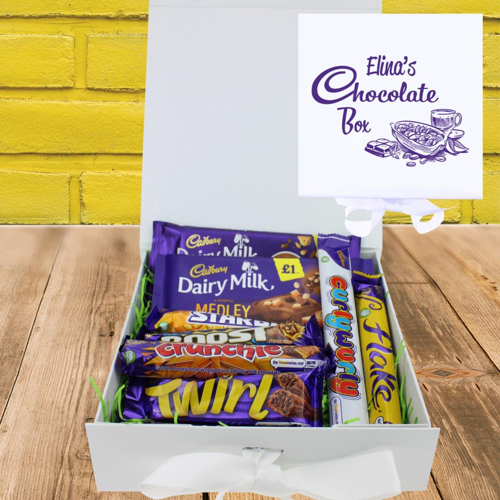 Luxury Send A Chocolate Hug Gift Box