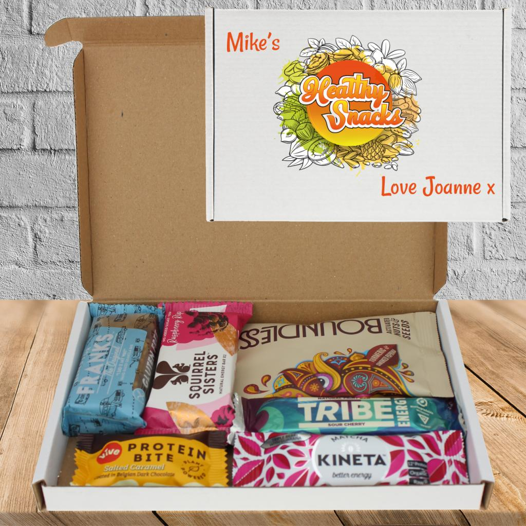 Healthy Alternative Snack Box Personalised Gift