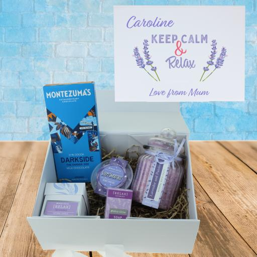 Keep Calm & Relax Gift Box