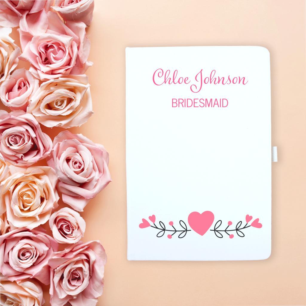 Bridesmaid Notebook