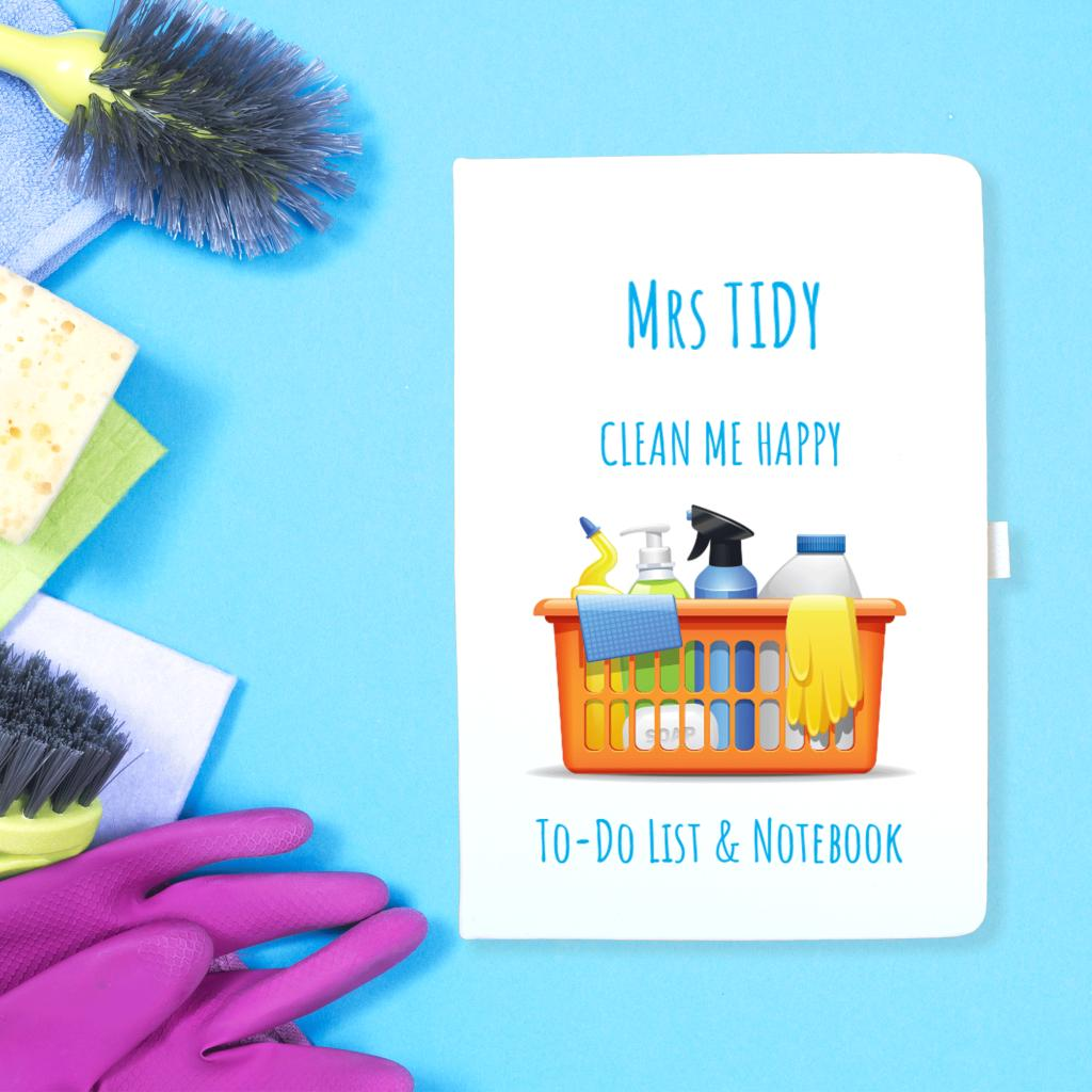 Personalised Notebook For The Organised Person