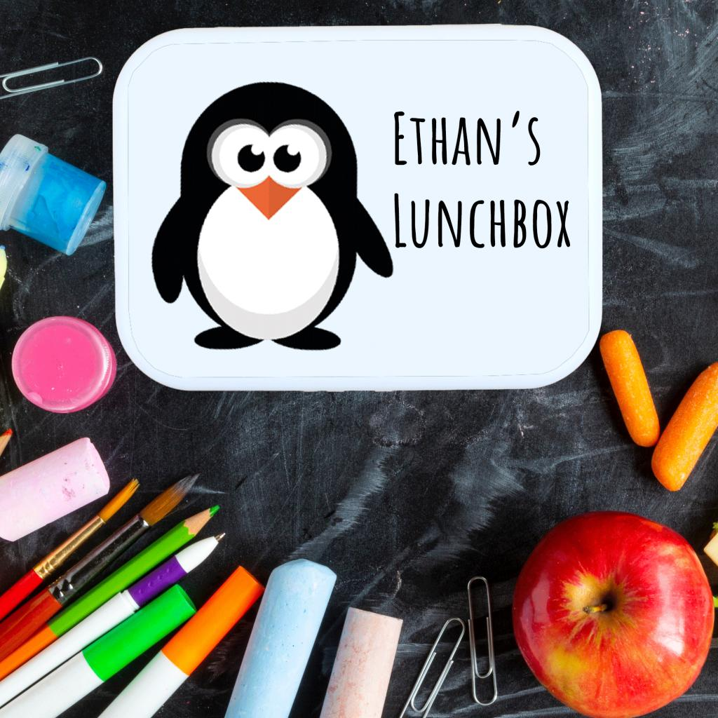 Penguin Lunch Box