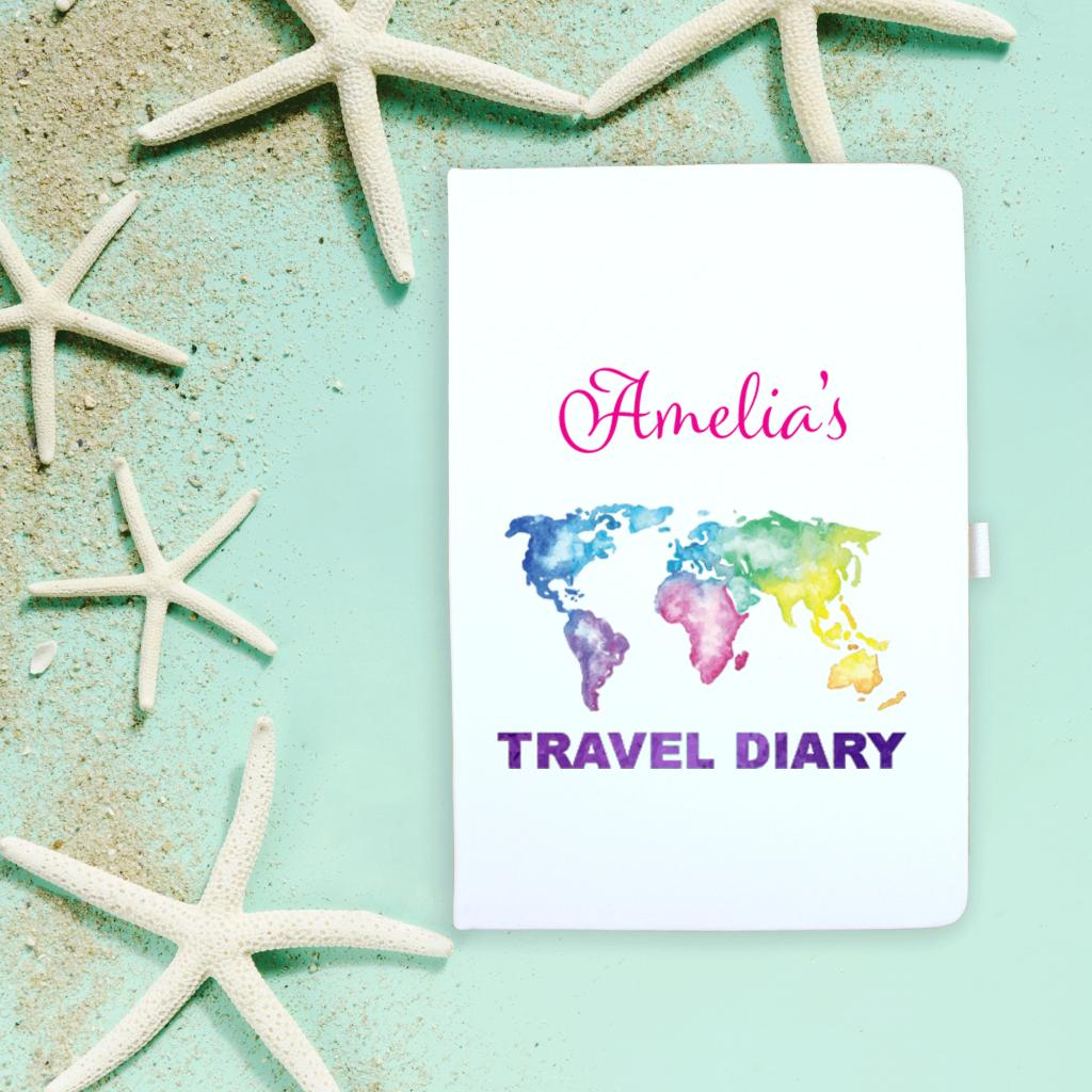 Travel Colour Map Notebook