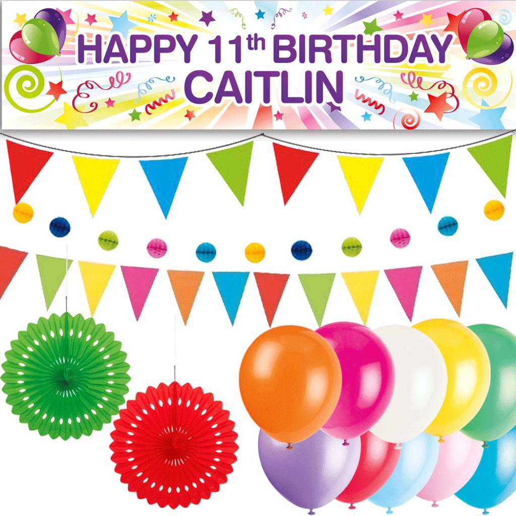Personalised Party At Home Kit - Starburst