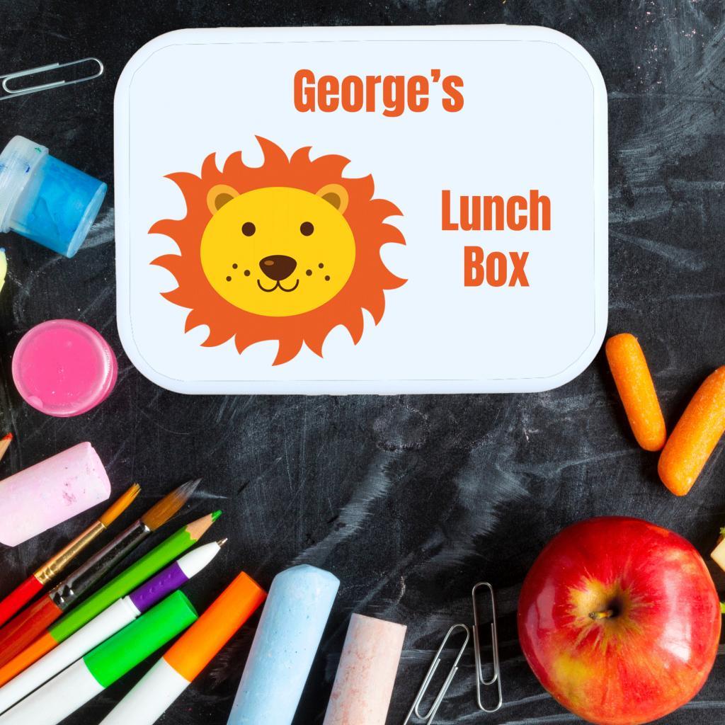 Lion Lunch Box