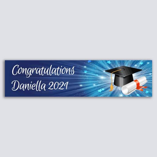 Personalised Banner - Graduation