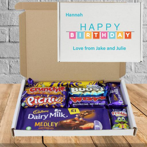 Send Chocolate Birthday Wishes Banner