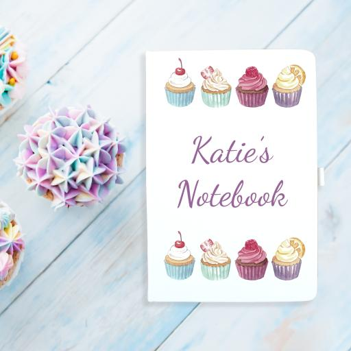 Notebook - Cupcake