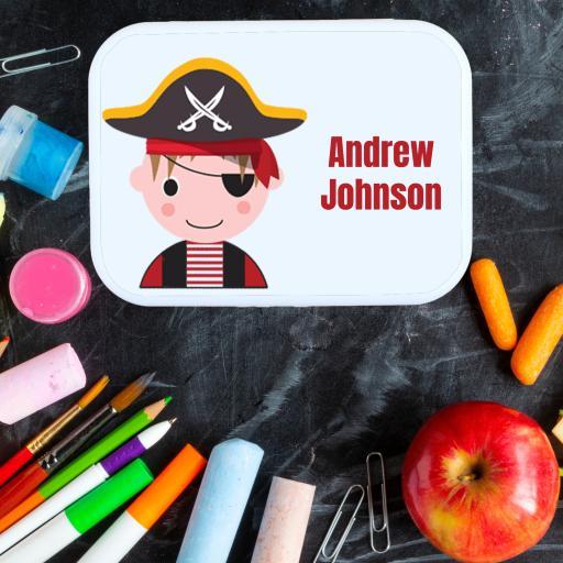 Lunch Box Pirate Boy