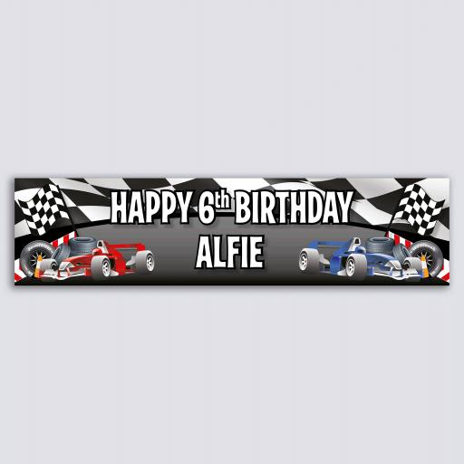 Personalised Banner - Grand Prix