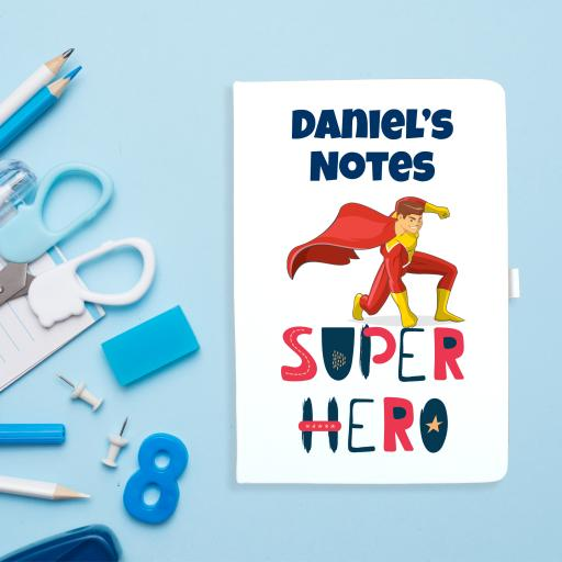 Notebook - Superhero