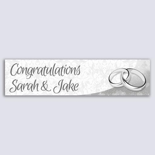 Personalised Banner - Wedding