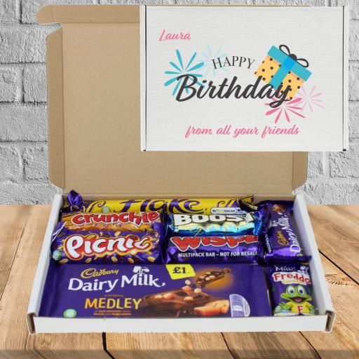 Send Chocolate Birthday Wishes Present