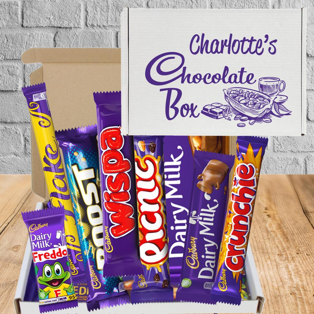 Send Chocolate Love Personalised Letterbox Gift