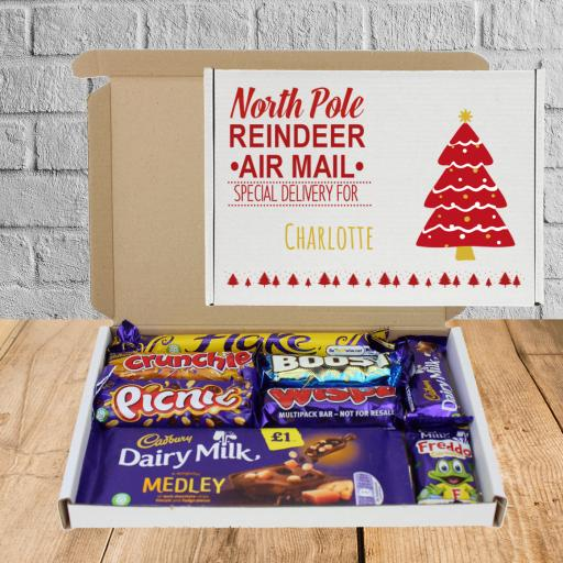 Send Cadburys Chocolate Santa Mail Box