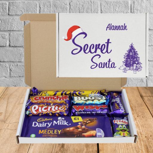 Send a Secret Santa Cadburys Chocolate Box