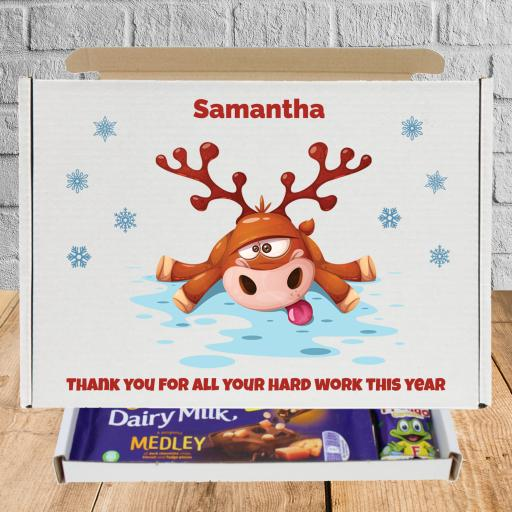 Send Cadburys Chocolate Christmas Reindeer Box