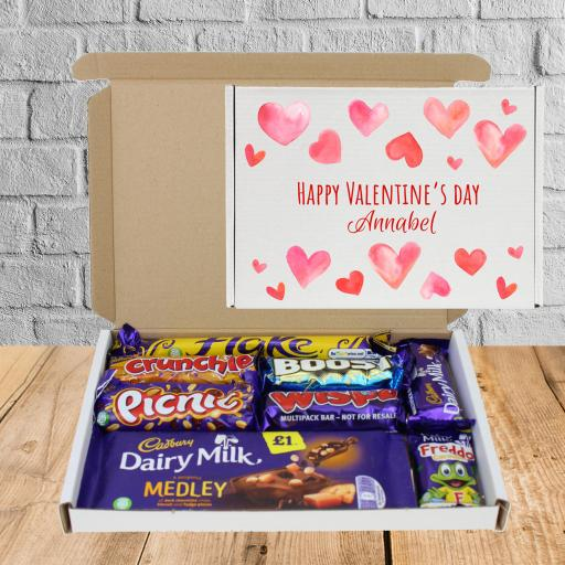 Send Cadburys Chocolate Valentine Hearts Box