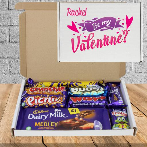 Send Cadburys Chocolate Be My Valentine Box