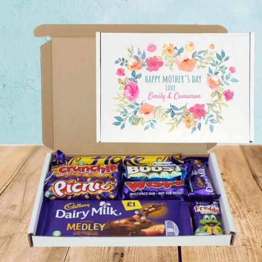 Send Cadburys Mothers Day Flowers Chocolate Box