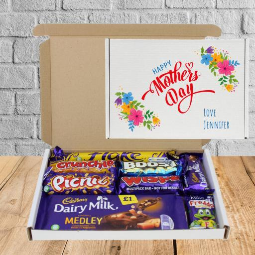 Send Cadburys Mothers Day Spring Flowers Chocolate Box