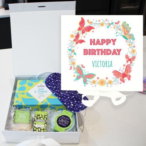 Gin box 5 - Happy Birthday