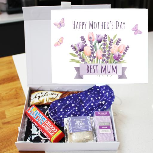 Lavender Relax Box Mothers Day