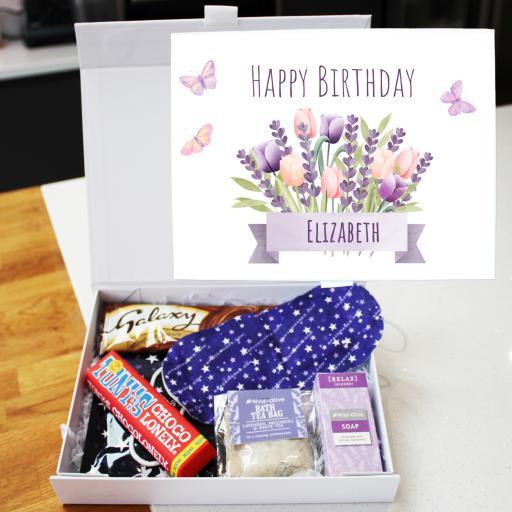 Lavender Relax Box Birthday