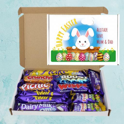 Send Cadburys Easter Bunny Personalised Chocolate Box