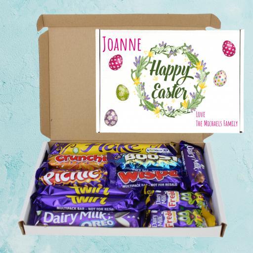 Send Cadburys Easter Eggs Personalised Chocolate Box