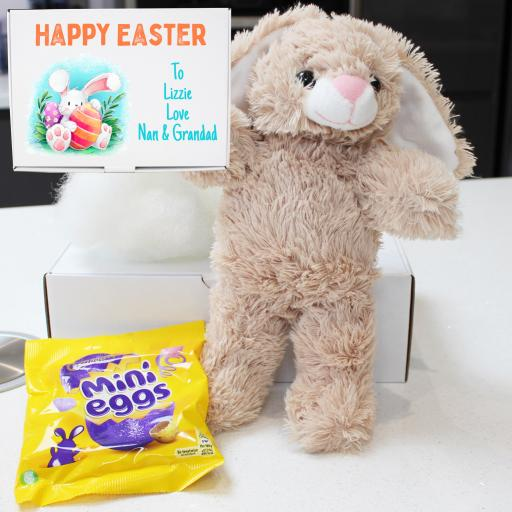 "Personalised Build a Flopsy 8"" Bunny Easter Kit"