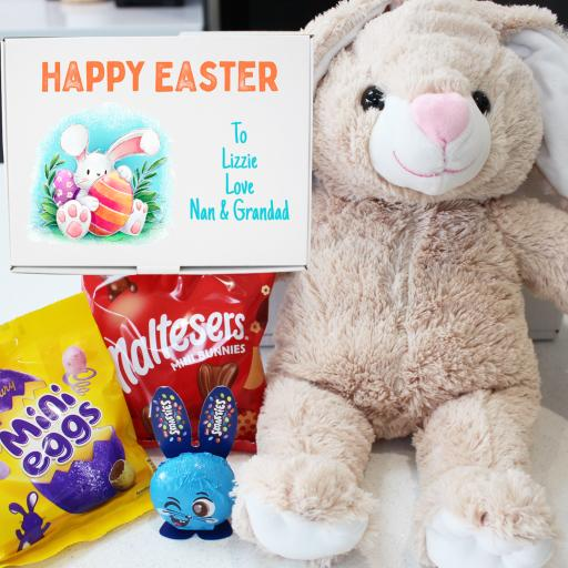 "Personalised Build a Flopsy 16"" Bunny Easter Kit"