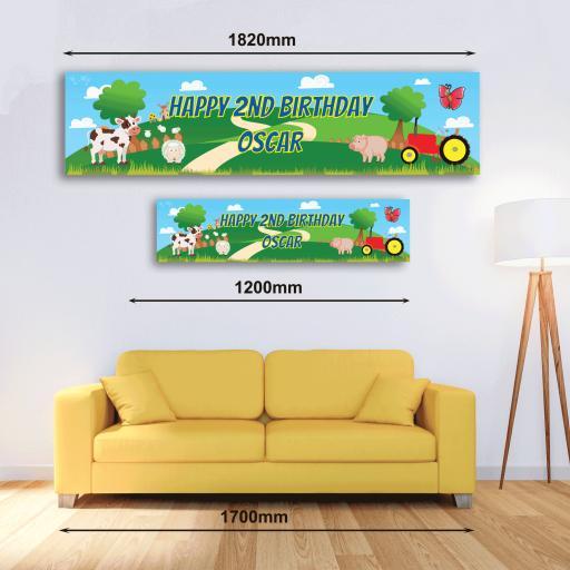 Personalised Banner - Farm