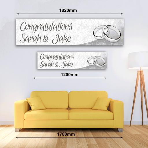 Personalised Banner - Wedding