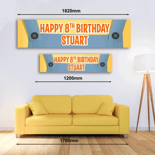Personalised Banner - Despicable