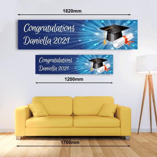 Personalised Banner - Graduation