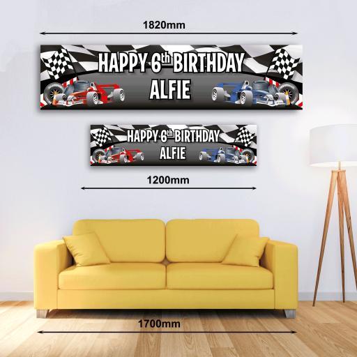 Personalised Banner - Grand Prix