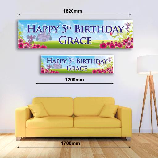 Personalised Banner - Fairy